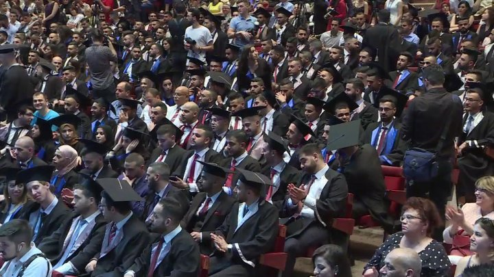 Over 292 foreign students took Hippocratic oath at Nicolae Testemitanu university