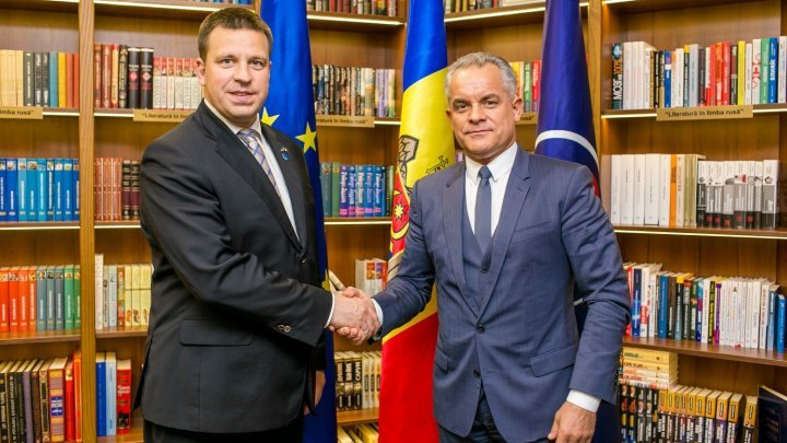 Vlad Plahotniuc, at meeting with Estonia PM: EU aids yield fruitful results in Moldovan economy