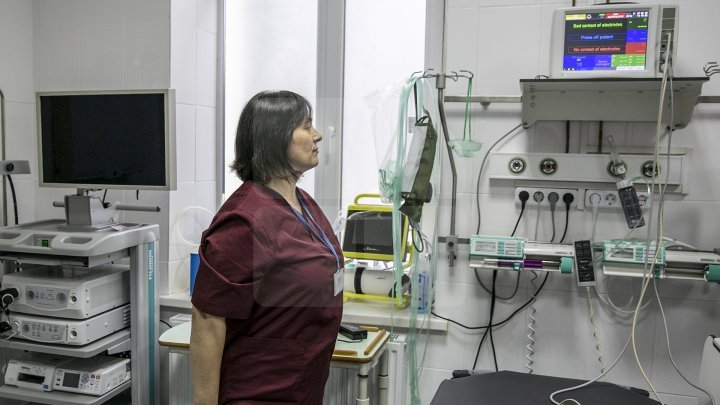 Modern conditions in Ungheni hospital 's Emergency Unit