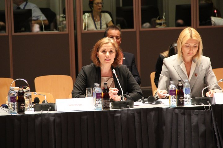 Victoria Iftodi in EaP Informal Meeting of Ministers of Justice and Internal Affairs