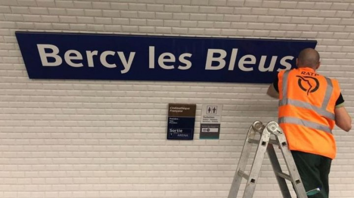 Paris renames stations in honour of France's World Cup victors