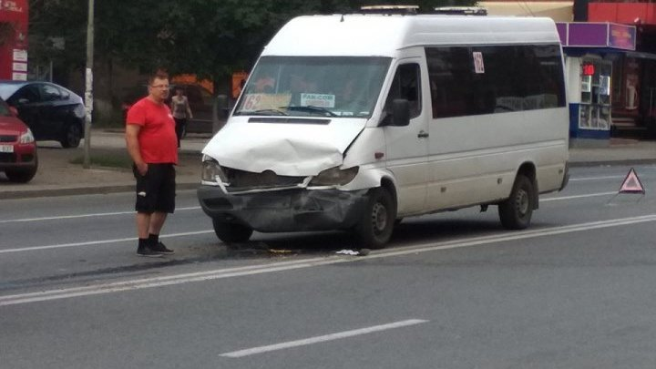 Hit and run at accident in Râşcani sector of Chisinau