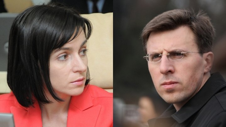 Painful talks between Maia Sandu and Dorin Chirtoacă. Sandu prohibits ex-mayor use protests to feed pride