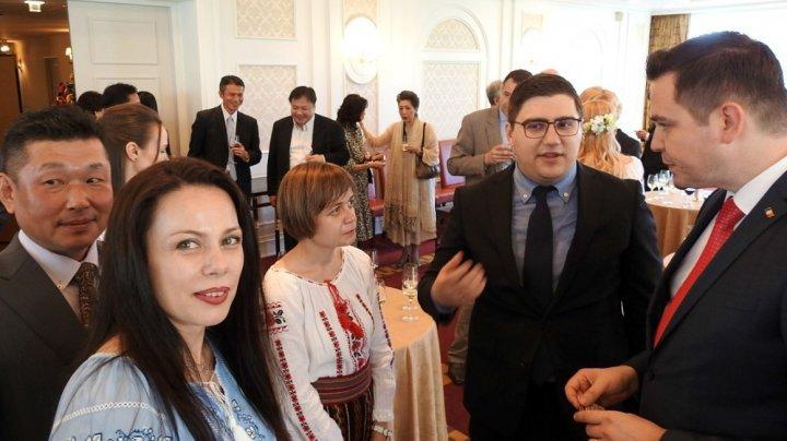 Minister Tudor Ulianovschi met with Moldovan diaspora in Japan