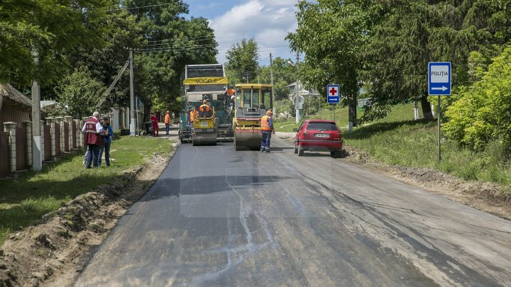 New roads for 40 localities in Drochia district