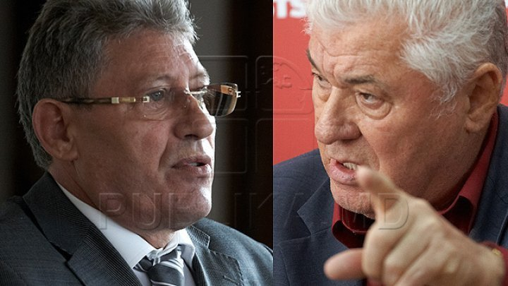 Hilarious replies between Vladimir Voronin and Mihai Ghimpu in Parliament