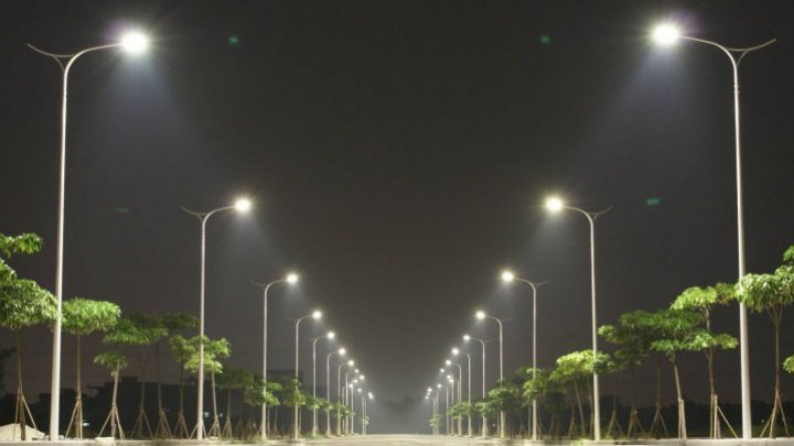 Street lighting extended in Strășeni thanks to German projects