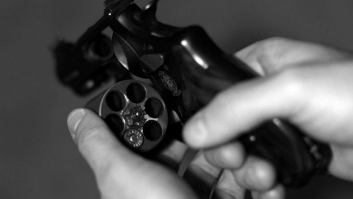 Man playing Russian roulette with his kids shot himself