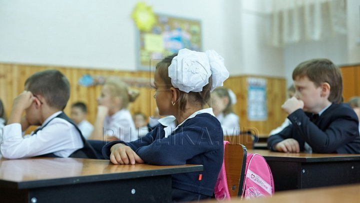 Over 6,100 children in Chisinau enrolled to first class