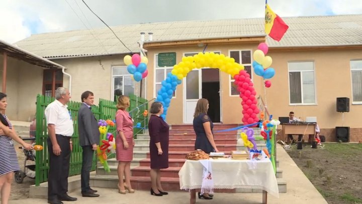 Kindergarten renovated completely in Băneştii Noi thanks to state budget