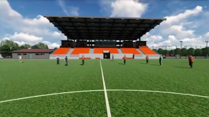Hânceşti modernizes municipal stadium: Football field to compete with European arenas