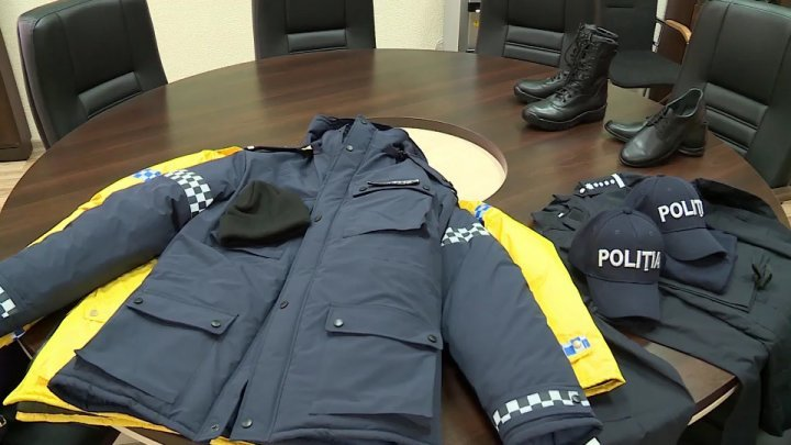 Renewed uniforms offered to policemen