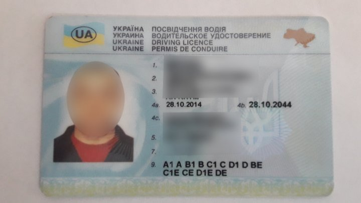 Ukrainian driver with FAKE driving license found at border