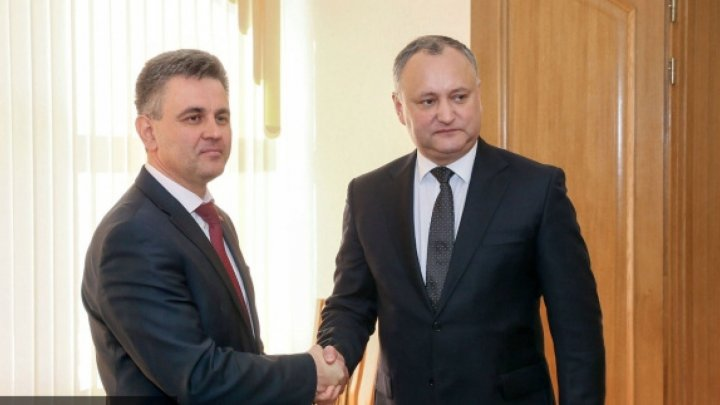 Igor Dodon will held official meeting with Vadim Krasnoselski, the leader of Transnistrean region