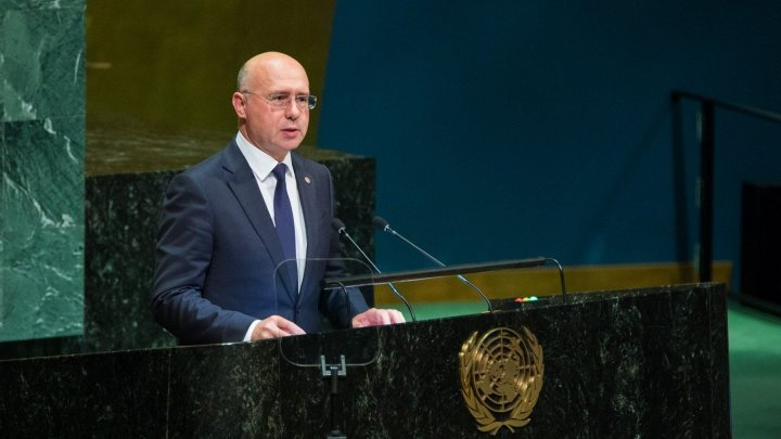 Pavel Filip at UN tribune: We call on Russian Federation to start to withdrawal military forces from territory of Moldova