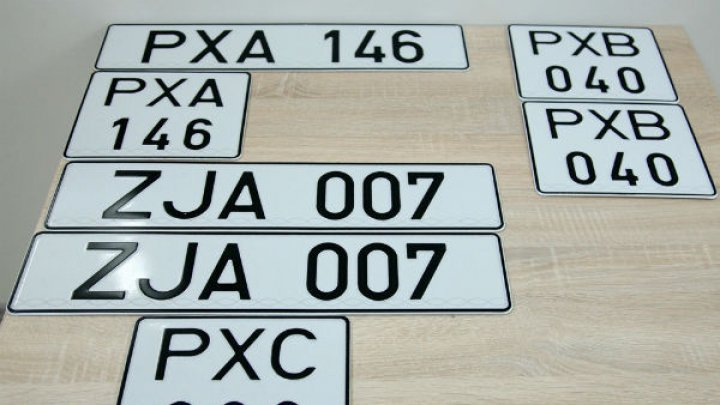 Good news! First neutral matriculation plates released in Tiraspol