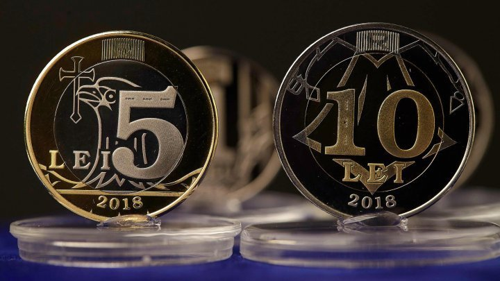 Coins worth five and ten lei will appear in Moldova by the end of this year