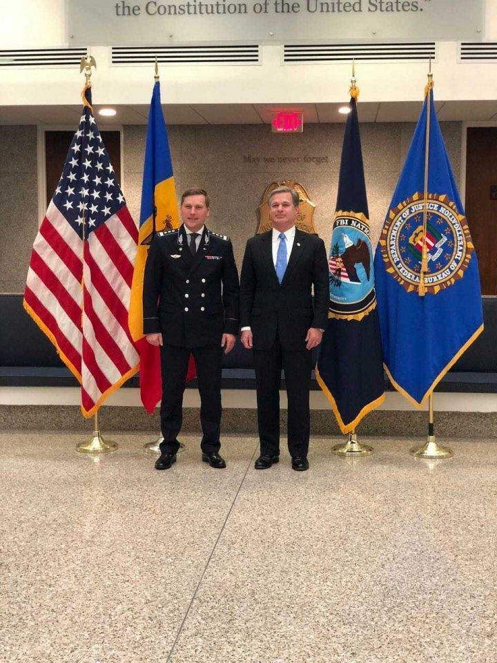 Border Police Chief Fredolin Lecari had a working visit at Washington (PHOTO)