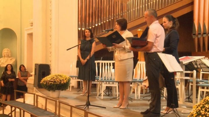 Great concert organized at Organ Hall to celebrate 40 years since it was founded