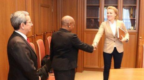 State secretary, Tatiana Molcean held meeting with Norma Goicochea stenoz, the Cuba Ambassador to Moldova.