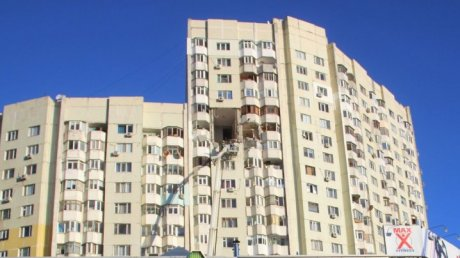 The condition of the woman in whose flat the explosion took place is still grave