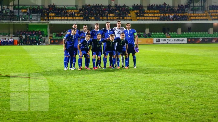 Moldova's national football team has climbed two positions in FIFA rankings