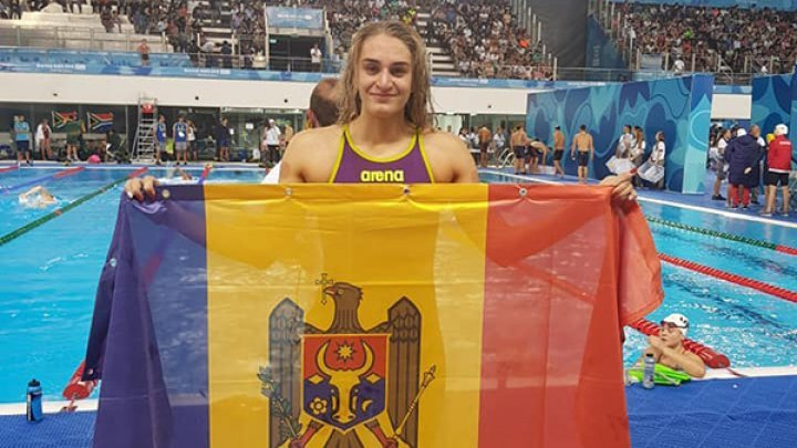 PERFORMANCE FOR MOLDOVA! Swimmer Tatiana Salcuţan won gold medal at Youth Olympic Games