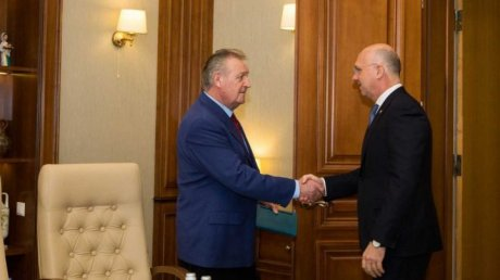 Pavel Filip held official meeting with Leonid Cerescu, President of National Confederation of Employers