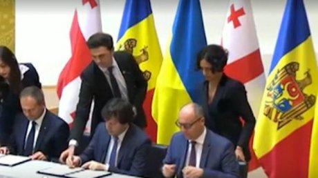 Moldova, Ukraine and Georgia unite forces to face Russian threatens