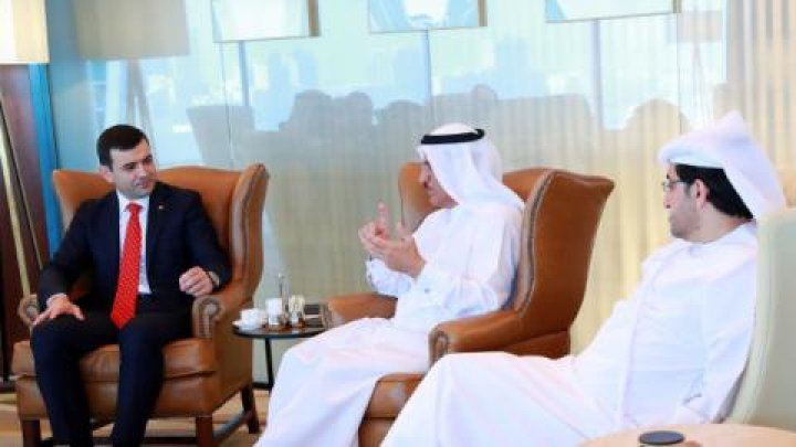 Minister Chiril Gaburici pays an official visit to Dubai
