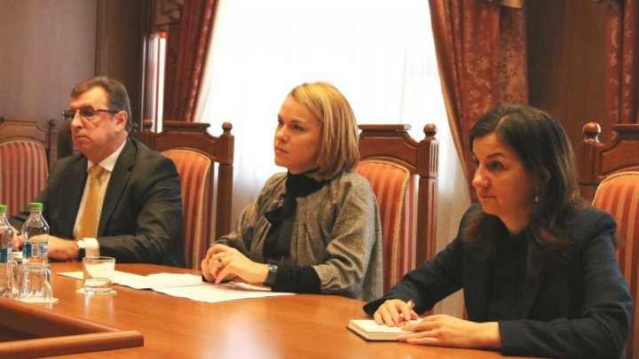New Columbia and Panama Ambassadors to Moldova presented the accreditation letters to Tatiana Molcean