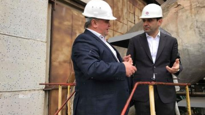 Chiril Gaburici visited Termoelectrica: We have to ensure daily comfort to citizens with quality heating services