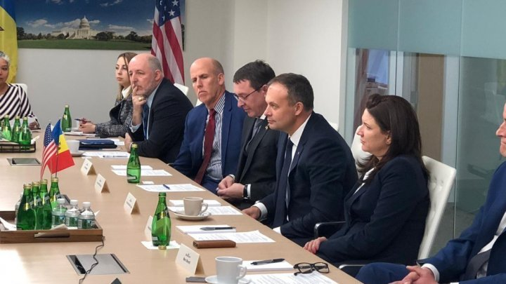 Andrian Candu attended the launch of Moldova-US Business Council