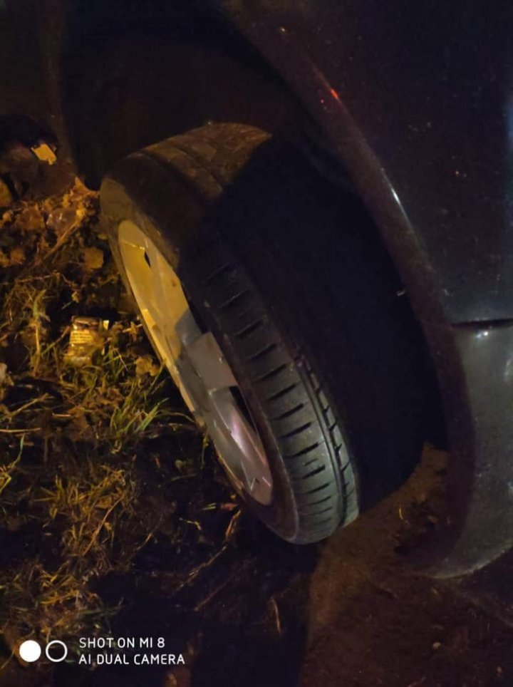 Grave accident in Capital. Man lost control of car, because he didn't replace summer tires