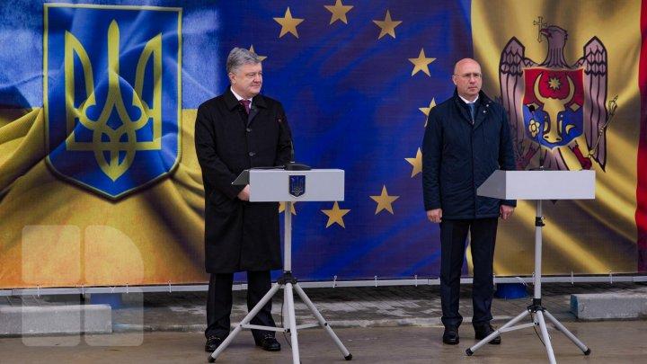 Pavel Filip held meeting with Petro Porosenko, the Ukraine President