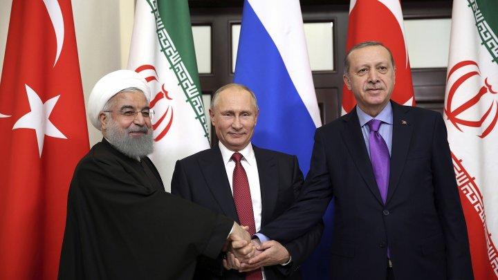 UN hosts Iran, Russia, Turkey for Syria talks