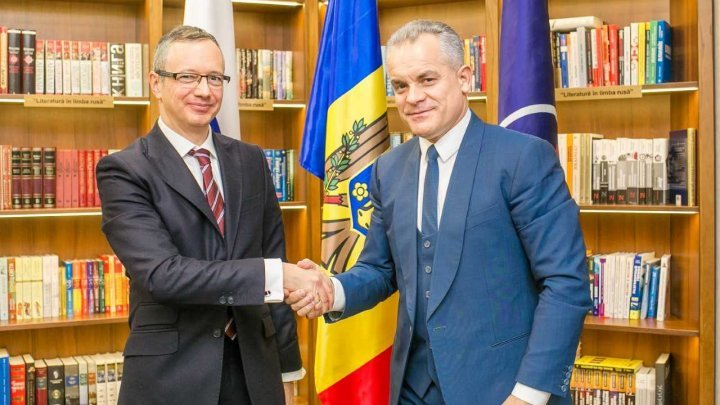 Vlad Plahotniuc, DPM chairman held meeting with Claus Neukirch. Among the discussed subjects is transnistrean conflict