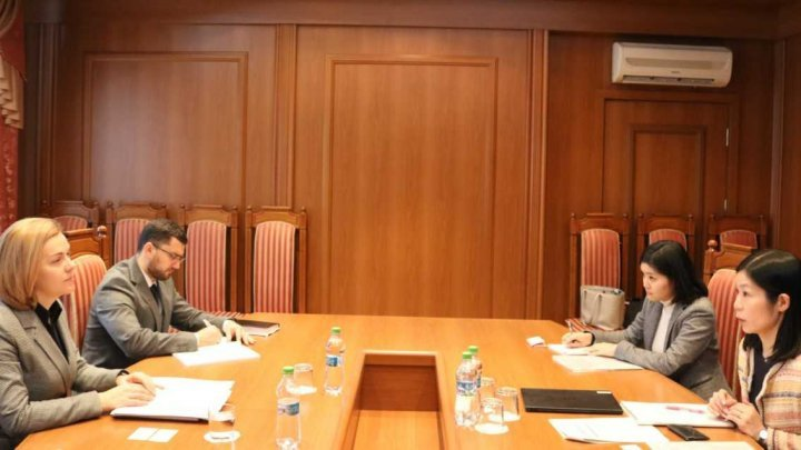Projects funded by JICA in Republic of Moldova were discussed at Chisinau