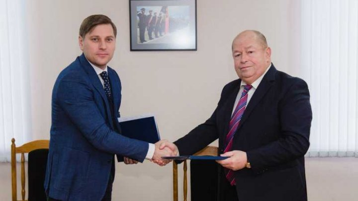 A cooperation agreement between Border Police General Inspectorate and Environmental Protection Inspectorate was signed today at Chisinau