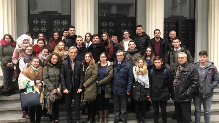 Iurie Leanca at Cluj-Napoca: Discussions about Romanian investments, meeting with Bessarabian students and possibility of opening a market for Moldovan products
