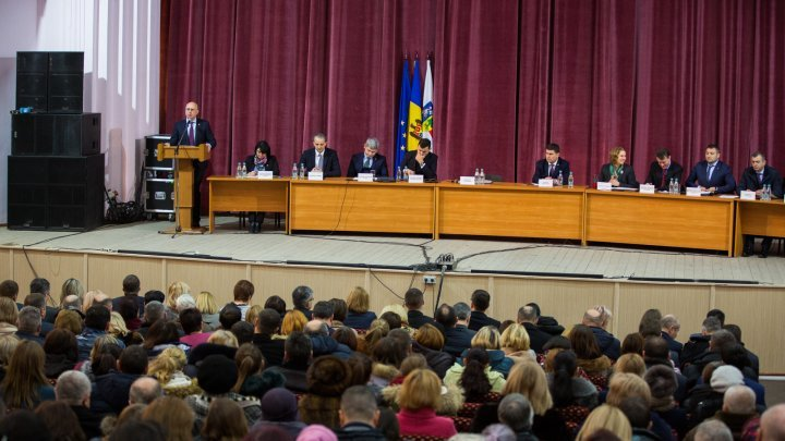 Executive's priorities, discussed on a meeting organized by Cabinet of Ministers at Orhei