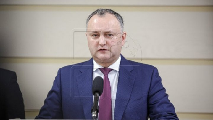 President Igor Dodon was suspended for fifth time for violating Constitution