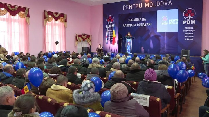 DPM Forum at Dubasari. Government's projects, appreciated by district's residents