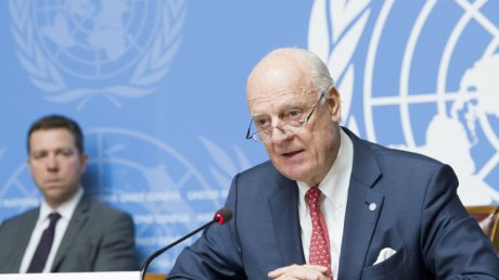 New UN envoy says talks iN Syria 'constructive'
