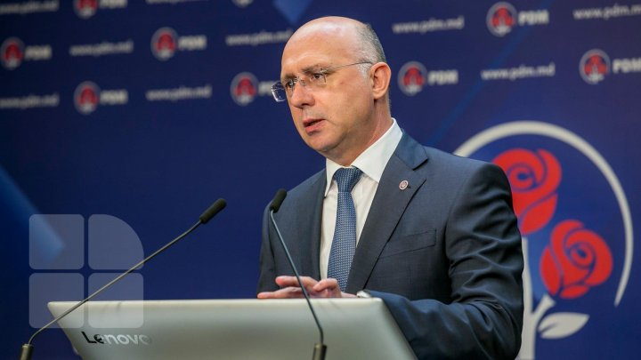 PM Pavel Filip launched PDM electoral campaign: Vote for country's progress, not chaos