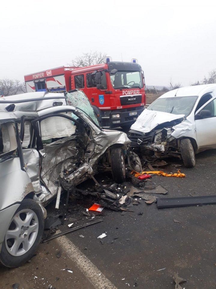Grave accident took place on Chisinau-Hancesti highway (PHOTO)