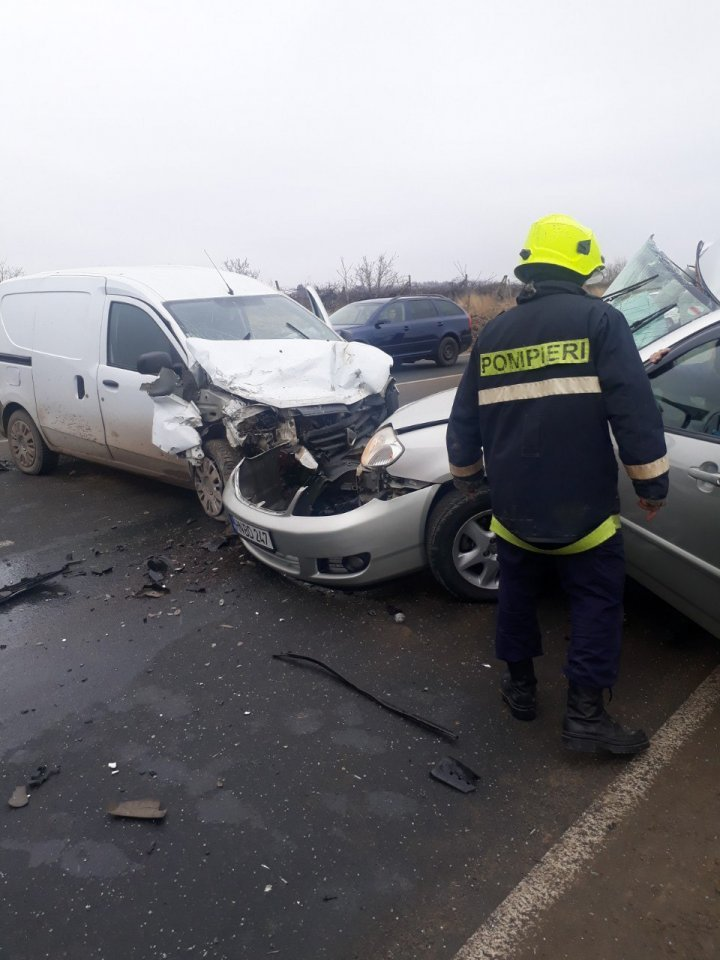 Grave accident took place on Chisinau-Hancesti highway (PHOTO)