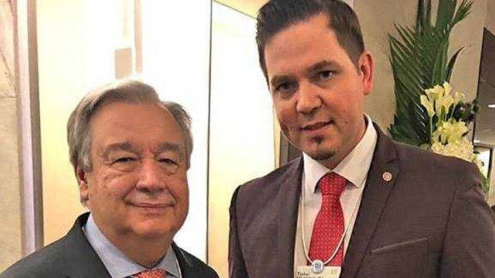 Minister Tudor Ulianovschi exchanged views with United Nations Secretary-General Antonio Guterres