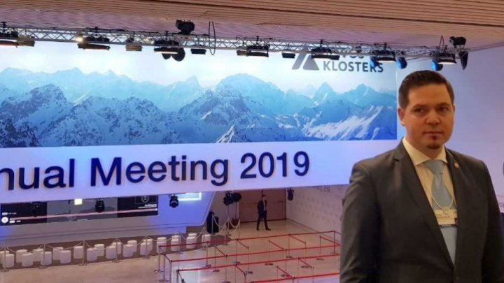 Tudor Ulianovschi at Davos: Moldova is interested in raising awareness of multinational companies and making better commercial-economic relations with world's states