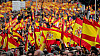 Thousands of protesters packed Madrid in a fierce backlash against Spanish Prime Minister and his planned talks with Catalan separatists